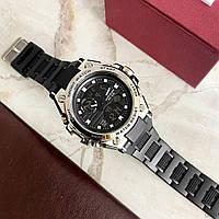 Мужские наручные часы Sanda 739 Black-Silver, фото 5