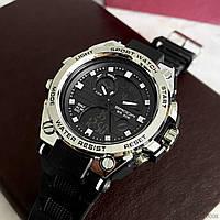 Мужские наручные часы Sanda 739 Black-Silver, фото 6