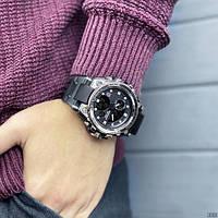 Мужские наручные часы Sanda 739 Black-Silver, фото 7