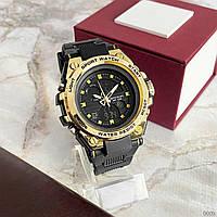 Мужские наручные часы Sanda 739 Black-Gold, фото 2
