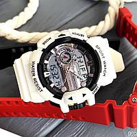 Мужские наручные часы Sanda 599 White-Silver, фото 2