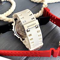 Мужские наручные часы Sanda 599 White-Silver, фото 4