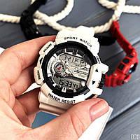 Мужские наручные часы Sanda 599 White-Silver, фото 5