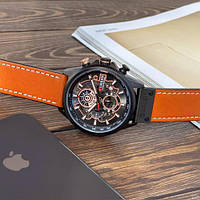 Мужские наручные часы Curren 8380 Black-Brown, фото 3