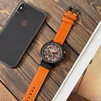 Мужские наручные часы Curren 8380 Black-Brown, фото 4