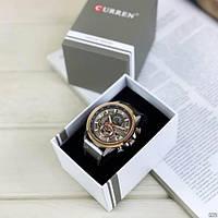 Мужские наручные часы Curren 8380 Cuprum-Silver-Brown, фото 4