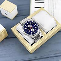 Мужские наручные часы Curren 8351 Silver-Blue, фото 3