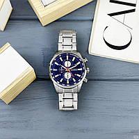 Мужские наручные часы Curren 8351 Silver-Blue, фото 4