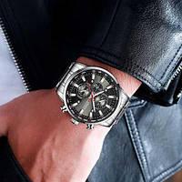 Мужские наручные часы Curren 8351 Silver-Black, фото 2