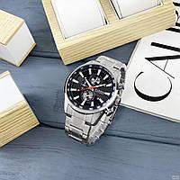 Мужские наручные часы Curren 8351 Silver-Black, фото 4