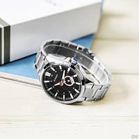 Мужские наручные часы Curren 8372 Silver-Black, фото 4