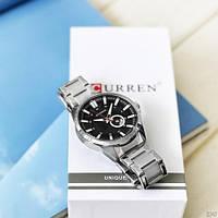 Мужские наручные часы Curren 8372 Silver-Black, фото 5