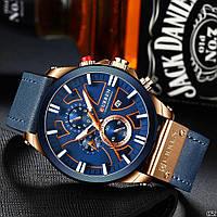 Мужские наручные часы Curren 8346 Blue-Cuprum, фото 3