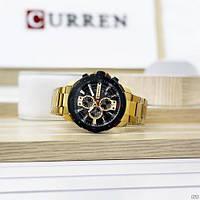 Мужские наручные часы Curren 8336 Gold-Black, фото 4