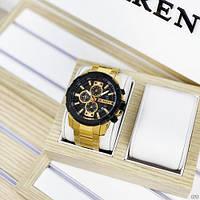 Мужские наручные часы Curren 8336 Gold-Black, фото 5
