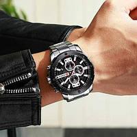 Мужские наручные часыCurren 8336 Silver-Black, фото 2