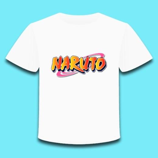 Футболка детская аниме Наруто Naruto