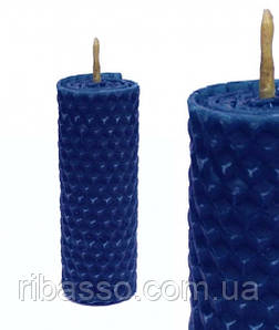 9060160 Волшебная свеча Тёмно - Синяя