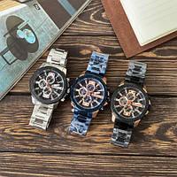 Мужские наручные часы Curren 8336 Black-Cuprum, фото 4