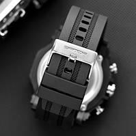 Мужские наручные часы Sanda 6012 All Black, фото 2