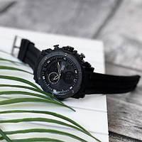 Мужские наручные часы Sanda 6012 All Black, фото 3