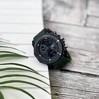 Мужские наручные часы Sanda 6012 Green-Black, фото 3