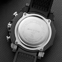 Мужские наручные часы Sanda 6012 Black-Blue, фото 2