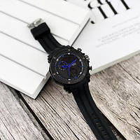 Мужские наручные часы Sanda 6012 Black-Blue, фото 3