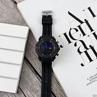 Мужские наручные часы Sanda 6012 Black-Blue, фото 4