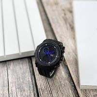 Мужские наручные часы Sanda 6012 Black-Blue, фото 5