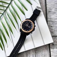 Мужские наручные часы Sanda 6012 Black-Cuprum, фото 3