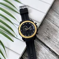 Мужские наручные часы Sanda 6012 Black-Gold, фото 3