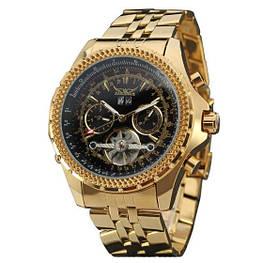 Мужские наручные часы Jaragar 048 Gold-Black