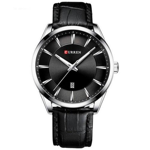 Мужские наручные часы Curren 8365 Silver-Black