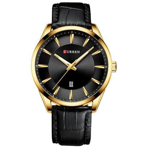 Мужские наручные часы Curren 8365 Black-Gold