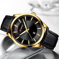Мужские наручные часы Curren 8365 Black-Gold, фото 2