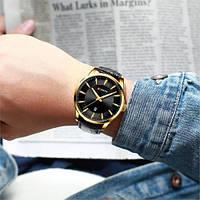 Мужские наручные часы Curren 8365 Black-Gold, фото 3