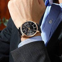 Мужские наручные часы Curren 8385 Black-Gold, фото 2