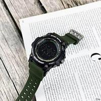 Мужские наручные часы Sanda 2016 Green-Black, фото 3