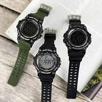 Мужские наручные часы Sanda 2016 Green-Black, фото 6