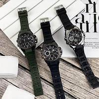 Мужские наручные часы Sanda 6008 Black-Silver, фото 5