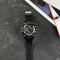 Мужские наручные часы Sanda 6021 Black-Silver, фото 4
