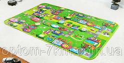 Детский односторонний коврик развивающий игровой NJ G