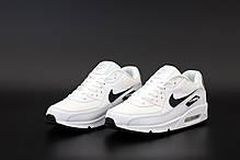 Мужские кроссовки Nike Air Max 90VT белые. ТОП реплика ААА класса., фото 2