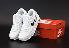 Мужские кроссовки Nike Air Max 90VT белые. ТОП реплика ААА класса., фото 3