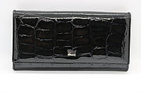 Жіночий шкіряний гаманець Wanlima 50042103 Black, фото 1