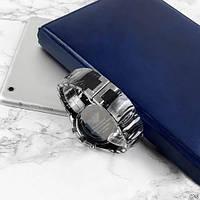 Мужские наручные часы Emporio Armani Silicone 068 Silver-Black, фото 7