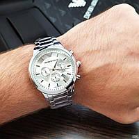 Мужские наручные часы Emporio Armani  QQ Silver, фото 2