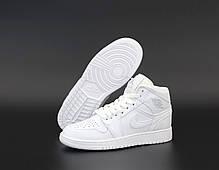 Мужские кроссовки Nike Air Jordan.White. ТОП Реплика ААА класса., фото 3