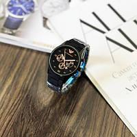 Мужские наручные часы Emporio Armani Silicone 068 Black-Cuprum, фото 3